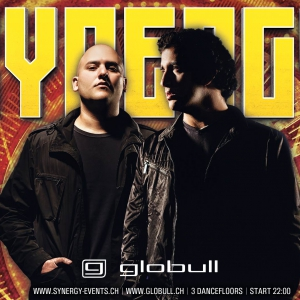 Flyer SYNERGY at Globull feat. Aly & Fila