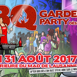Flyer MAD Garden Party