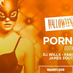 Flyer Halloween Weekend x Porn Chic
