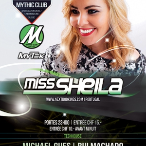 Flyer Mytek - Miss Sheila