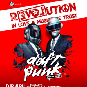 Flyer R3VOLUTION ! DAFT PUNK