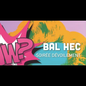 Flyer Bal HEC 2018 - Devoilement du theme