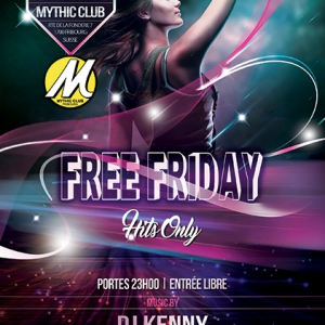 Flyer FREE FRIDAY