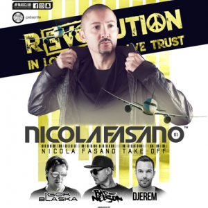 Flyer R3VOLUTION ! NICOLA FASANO