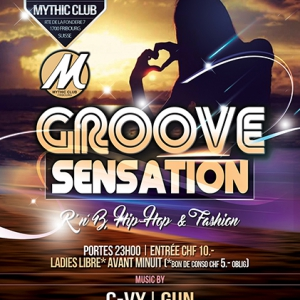 Flyer GROOVE SENSATION