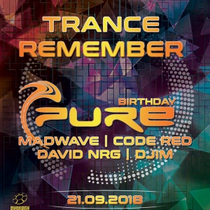 Flyer Trance Remember 'DJ Pure Birthday'